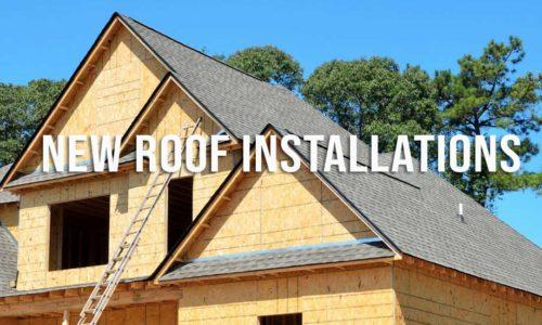 new roof installs